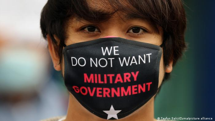 Myanmar anti-coup protest