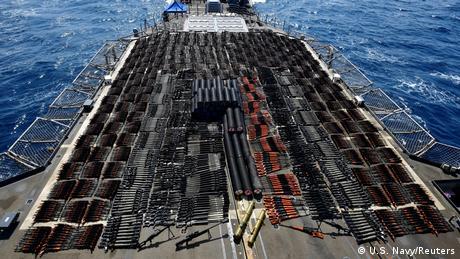 Arabisches Meer US Navy konfisziert Waffenlieferung