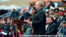 Russland Moskau Tag des Sieges Parade Putin