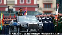 Russland Moskau Tag des Sieges Parade Sergei Shoigu