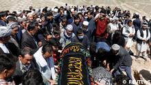 Afghanistan | Massenbegräbnis nach Anschlag in Kabul