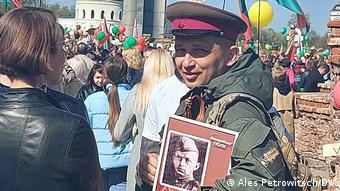 Брестский координатор Бессмертного полка Петр Пицко