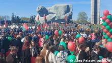 Weißrussland Brest 76 Jahrestag des Sieges über Nazi-Deutschland