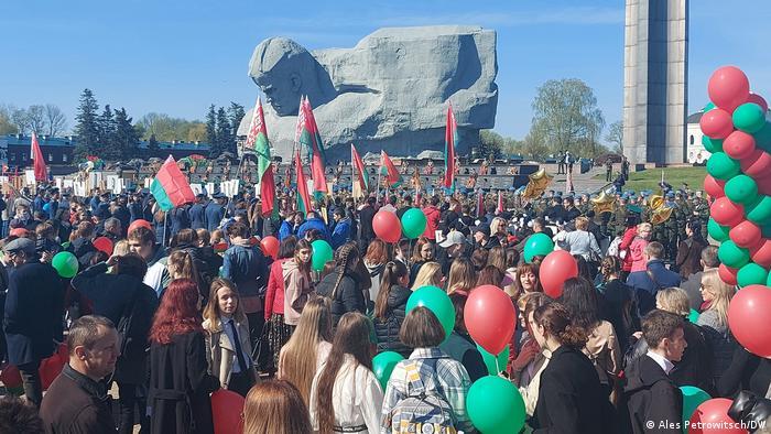 Торжества в Бресте по случаю Дня Победы