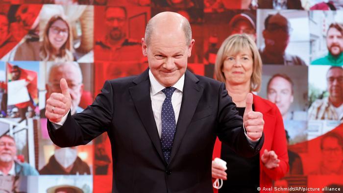 Olaf Scholz SPD'nin Başbakan adayı