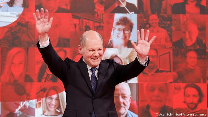 Olaf Šolc, kandidat SPD za kancelara