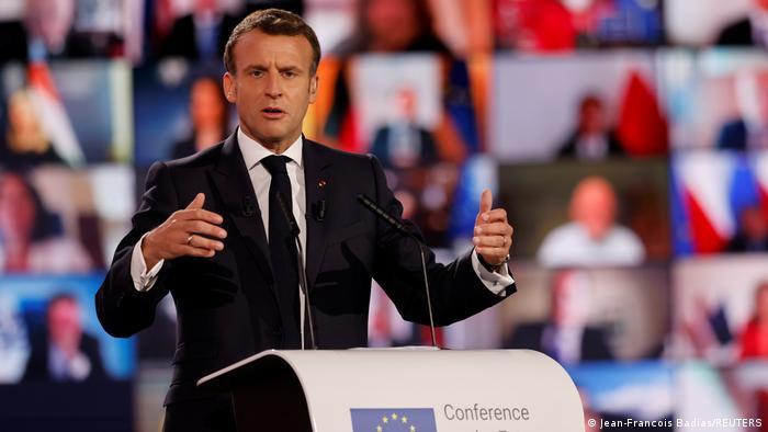 Emmanuel Macron otwiera Konferencję o Przyszłości Europy (9.05.2021)