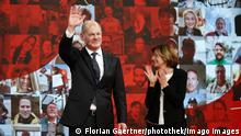 Deutschland Online-Bundesparteitag der SPD in Berlin - Olaf Scholz, Bundesfinanzminister und Kanzlerkandidat der SPD