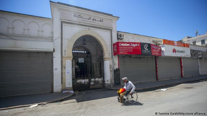 إغلاق عام في تونس