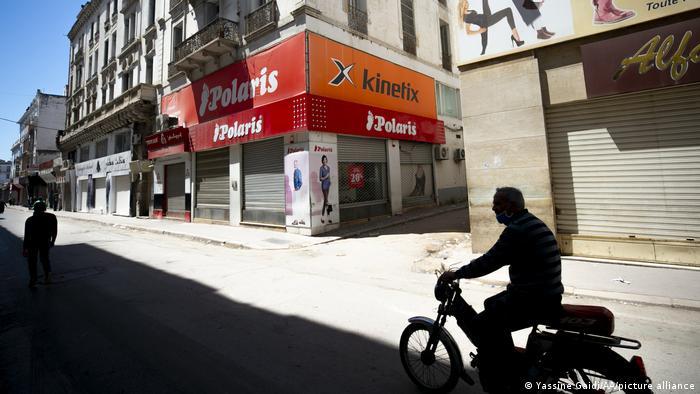 الإغلاق التام - تونس