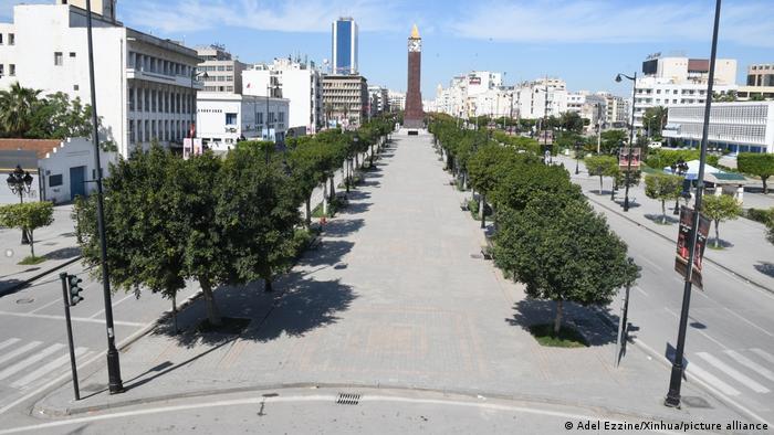 الإغلاق التام في تونس