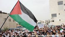 Jordanien Protest gegen israelische Intervention in der Masjid al-Aqsa