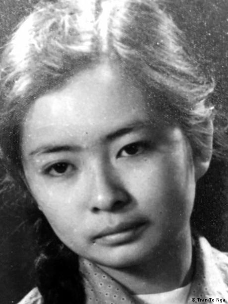 Tran To Nga als junge Frau in Vietnam