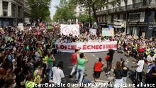 Frankreich Demo für Klimaschutz in Paris