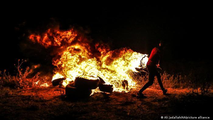 Israel Palästina Proteste in Gaza