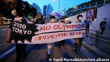 Japan Tokio | Protest gegen Olympische Spiele
