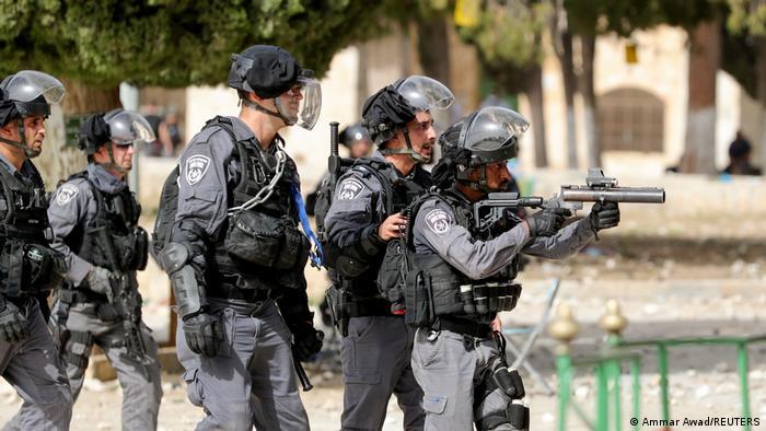 Izraelska policija, 10 maj 2021.