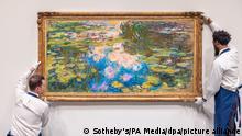 USA New York | Claude Monet Seerosenteich bei Sotheby's