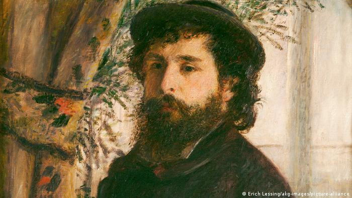 Portret Kloda Monea iz 1875. koji je naslikao njegov prijatelj August Renoar