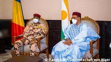 Niger | Mahamat Idriss Déby trifft Mohamed Bazoum