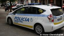 Spanien Madrid | Polizeiauto