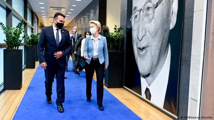 Besuch des nordmazedonischen Premierministers Zoran Zaev bei der Europäischen Kommission