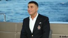 Sedat, Peker, türkischer Mafia Boss in Exil Copyright: Anka, Nachrichten Agentur, Rechtefrei für DW