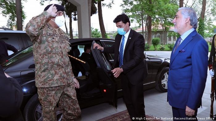 رئیس ستاد مشترک ارتش پاکستان در کابل