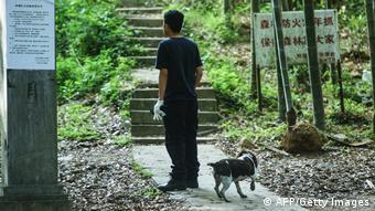 China   Suche nach entlaufenen Leoparden in Hangzhou