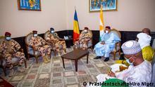 Niger   Besuch tschadischer Präsident Mahamat Idriss Deby