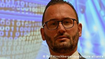 Carsten Meywirth, head of the cybercrime division of the of the German Federal Criminal Police