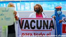 Mexiko private medizinische Sektor fordert den Zugang zu Impfungen