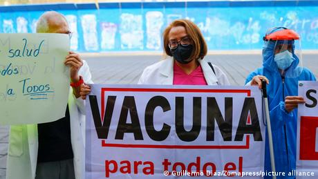 Hace unas semanas, el sector médico privado en Ciudad de México exigía ser vacunado.
