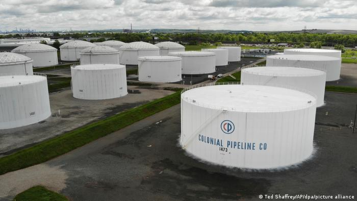 Colonial-Pipeline-Lagertanks in New Jersey