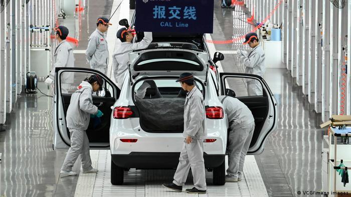 Autoproduktion in Jinhua in der Provinz Zhejiang