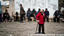 China alternde Bevölkerung