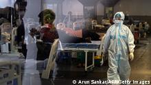 Weltspiegel 11.05.2021 | Corona |Indien Neu Delhi | provisorisches Krankenhaus