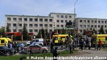 Russland Kasan Schießerei im Gymnasium Nr. 175