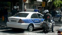 Iran Polizei in Teheran