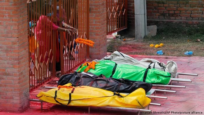 Nepal Kathmandu | Coronavirus Krise | Krematorium