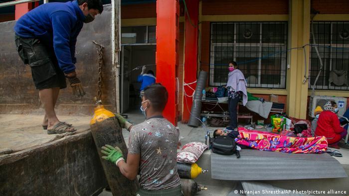 Nepal Kathmandu | Coronavirus Krise | Krankenhaus