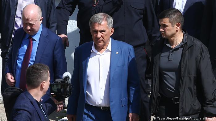 Predsednik Tatarstana Rustam Minihanov
