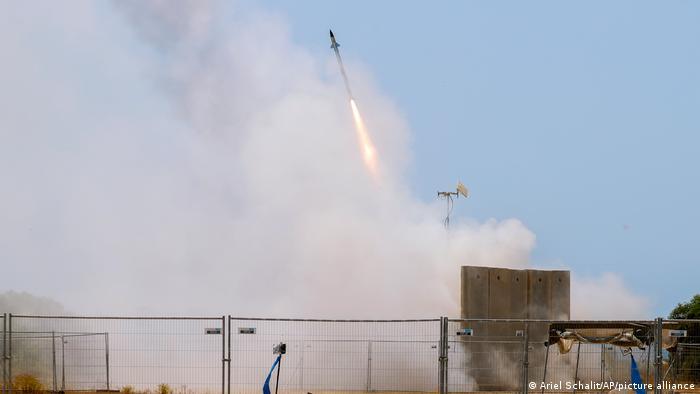 Israel Palästinenser Konflikt | Luftabwehrsystem gegen Raketen aus Gaza