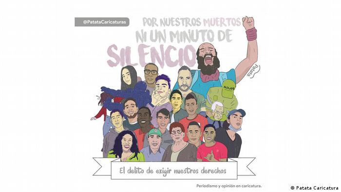 Patata Caricaturas: El delito de exigir nuestros derechos.