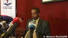 Fikadu Tsega Deputy Attorney General of Ethiopia Schlagworte Fikadu Tsega Attorney General,Ethiopia Äthiopien, Addis Abeba Fotograf Solomon Muchie(DW Korri in Äthiopien