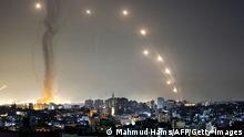 Gaza Raketenangriff auf Israel Iron Dome