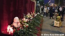 Russland Kazan Trauer nach Schießerei in Schule