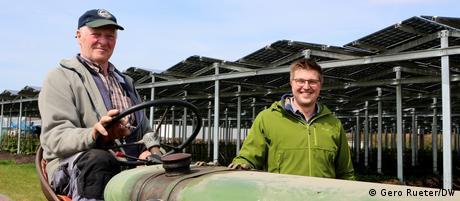 NRW Fabian Karthaus Landwirt Photovoltaik Fan