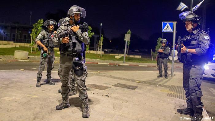 Izraelski vojnici u Lodu