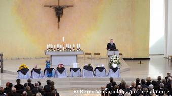 21 марта 2009 года, траурное мероприятие в церкви в Виннендене